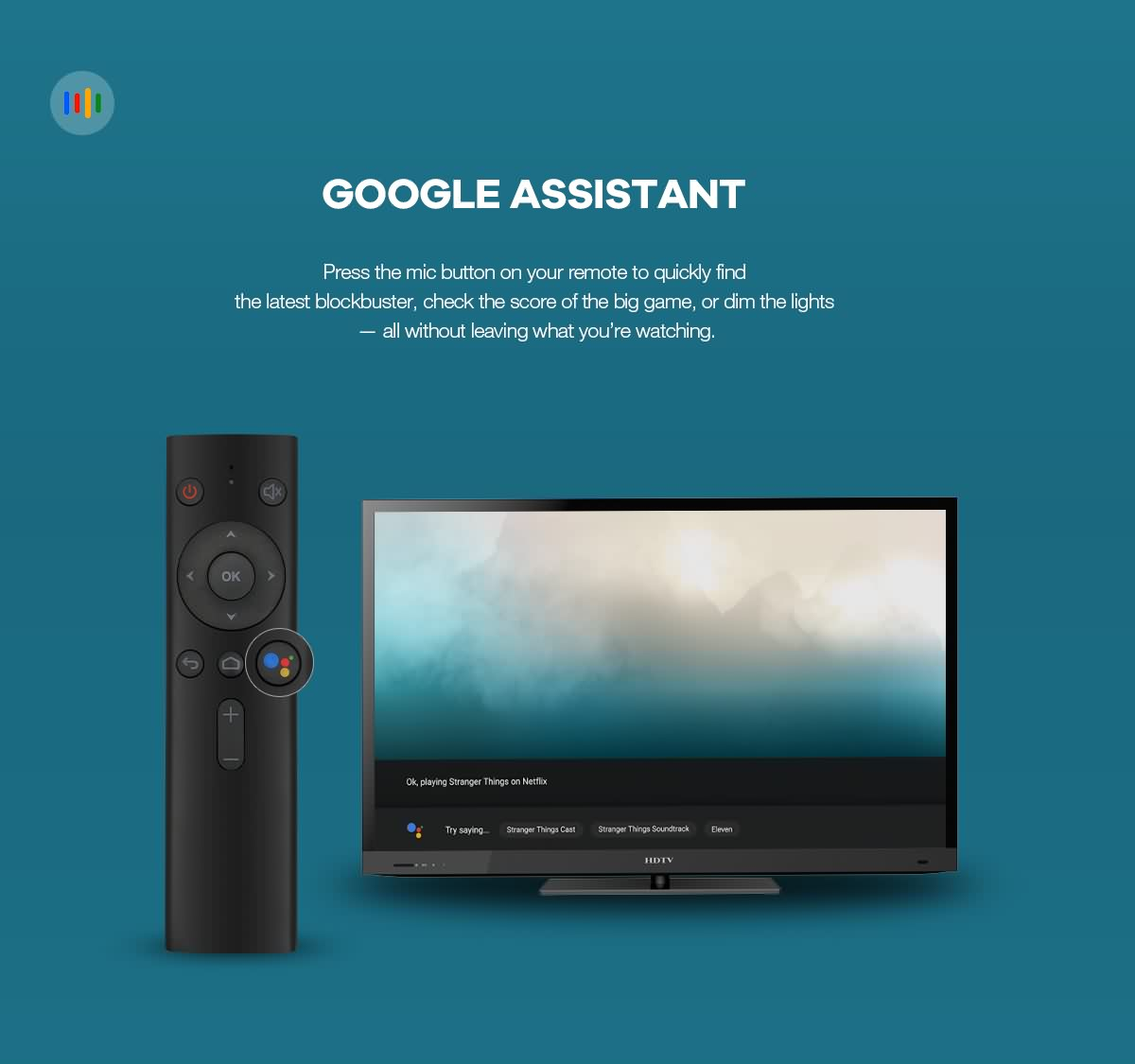 Pure OTT androidtv™ 9.0/10.0 OTT Box with Google certificate based on Amlogic S905X chipset 11